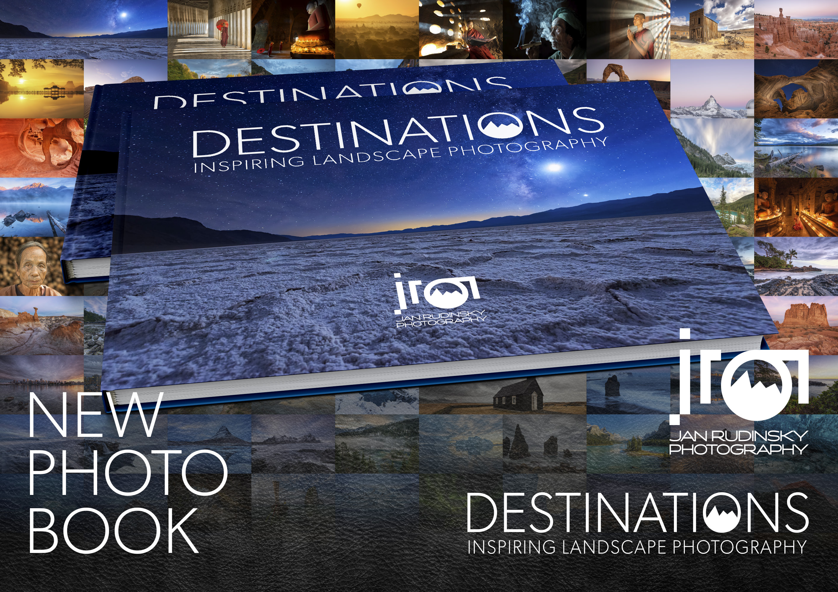 "Photobook ""Destinations"" with Night Cover"
