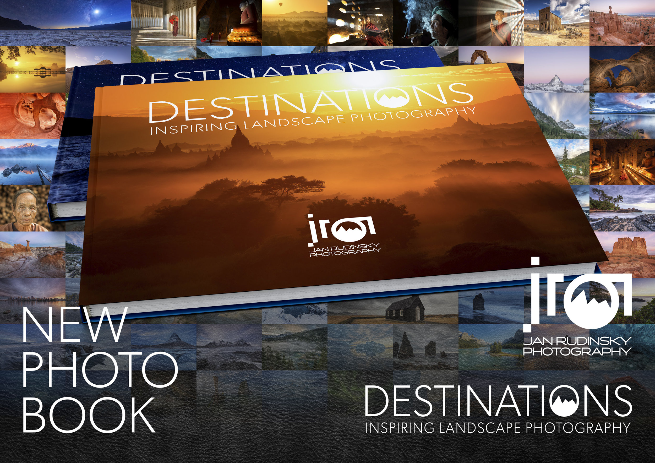 "Photobook ""Destinations"" with Temple of Myanmar Cover"