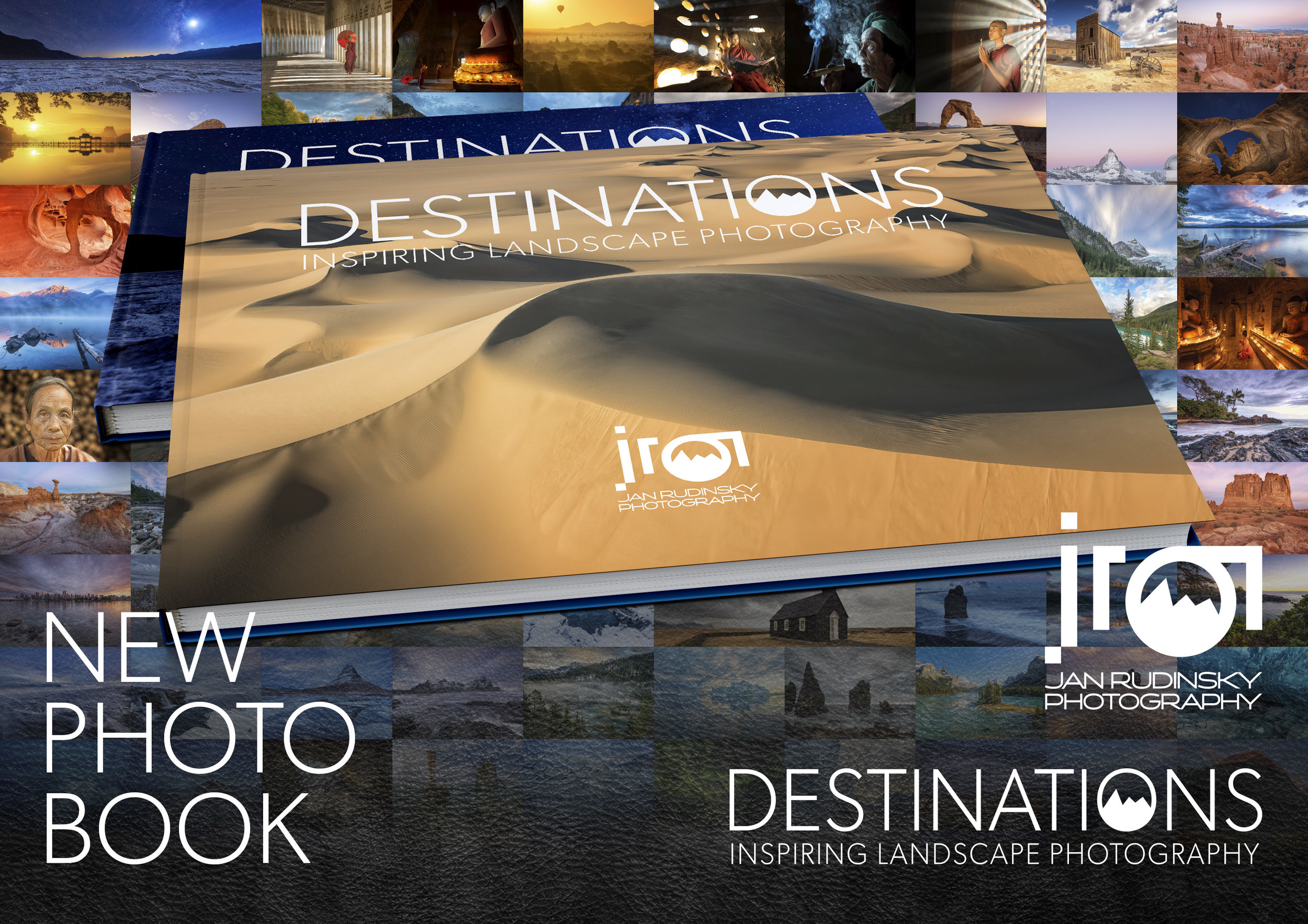 "Photobook ""Destinations"" with White Desert Cover"