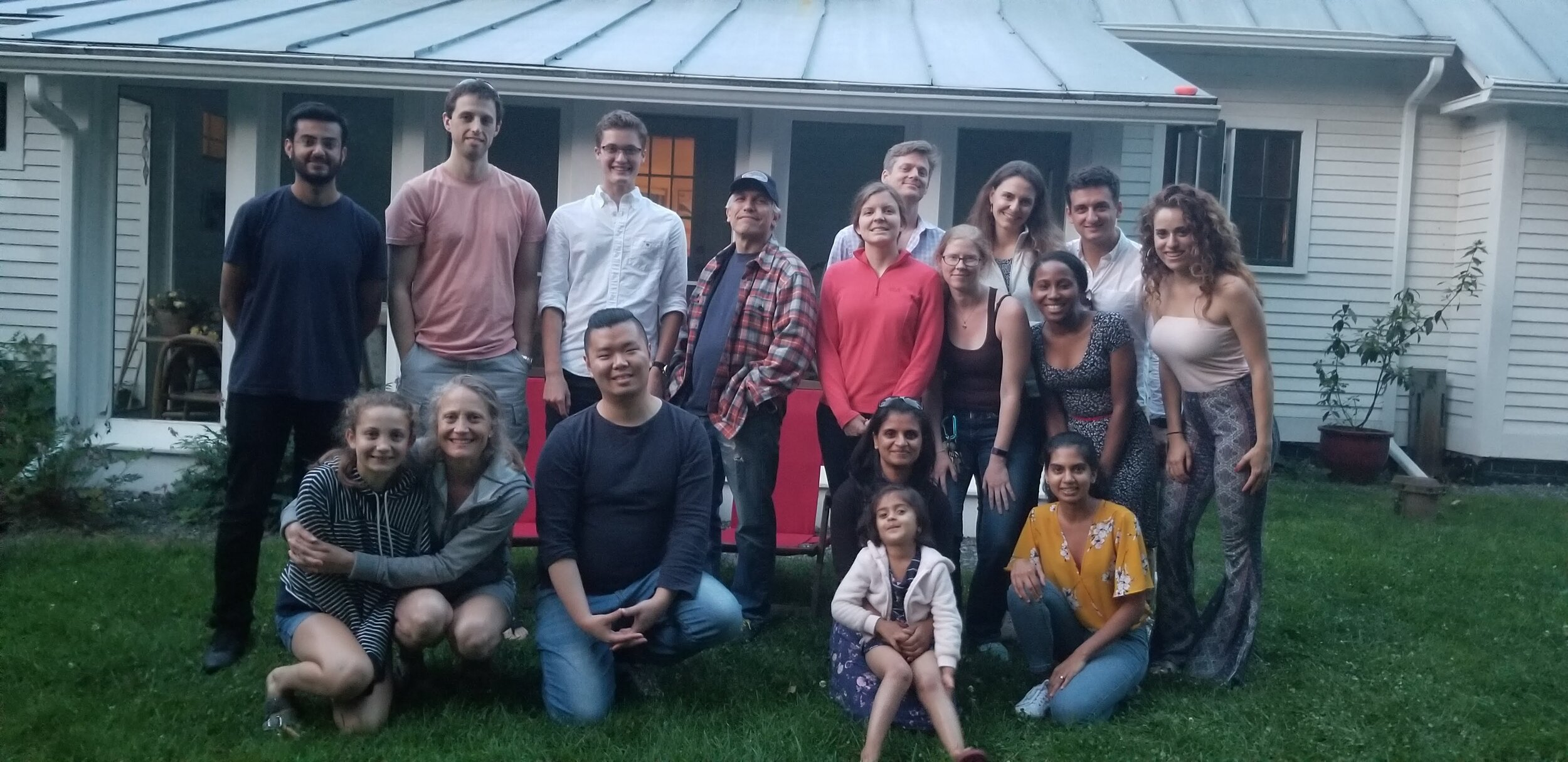 Bosco lab, friends and family summer 2019