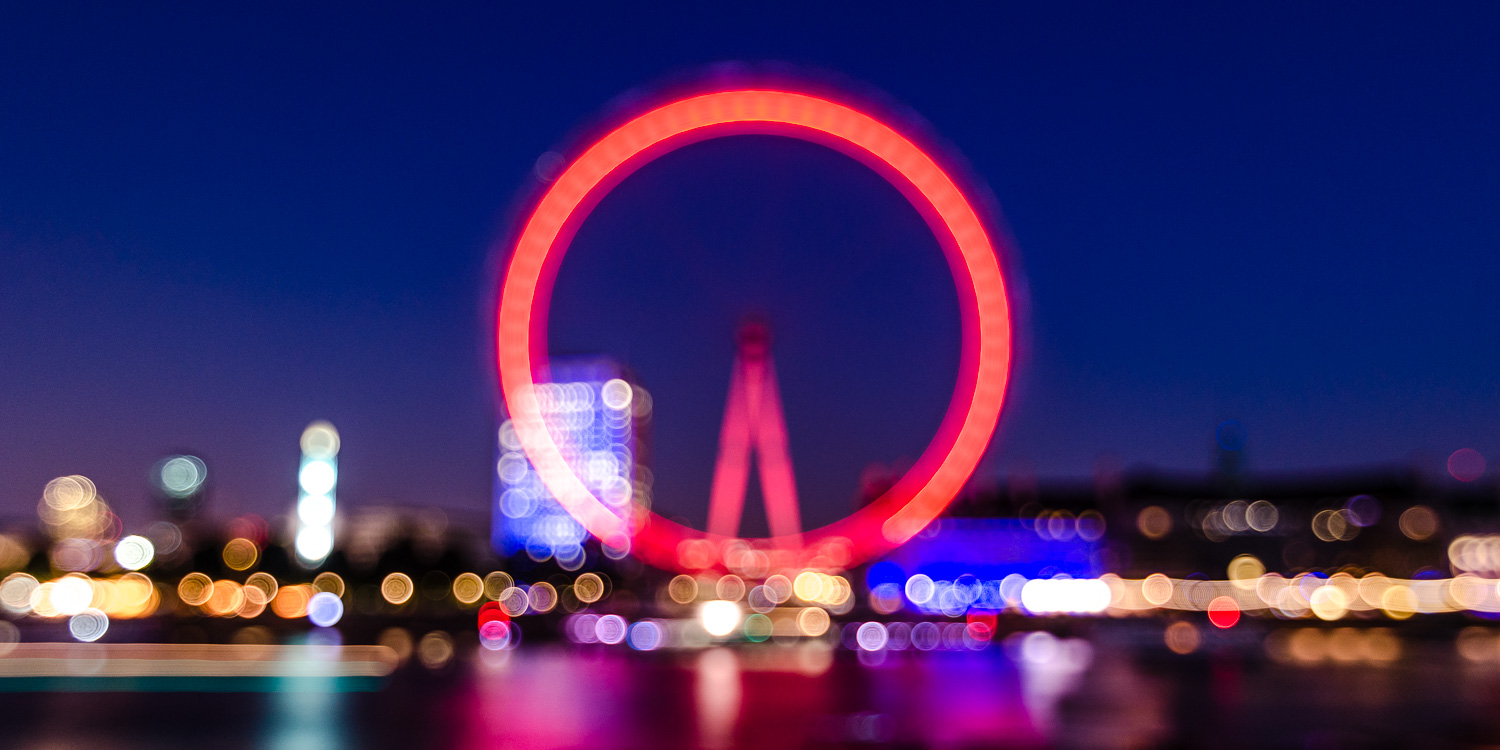 Blurry Eye - an experiment with the London Eye — Mo Baig Images