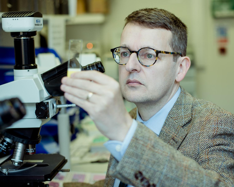 Professor Dan Berney, Barts Hospital and Orchid Cancer