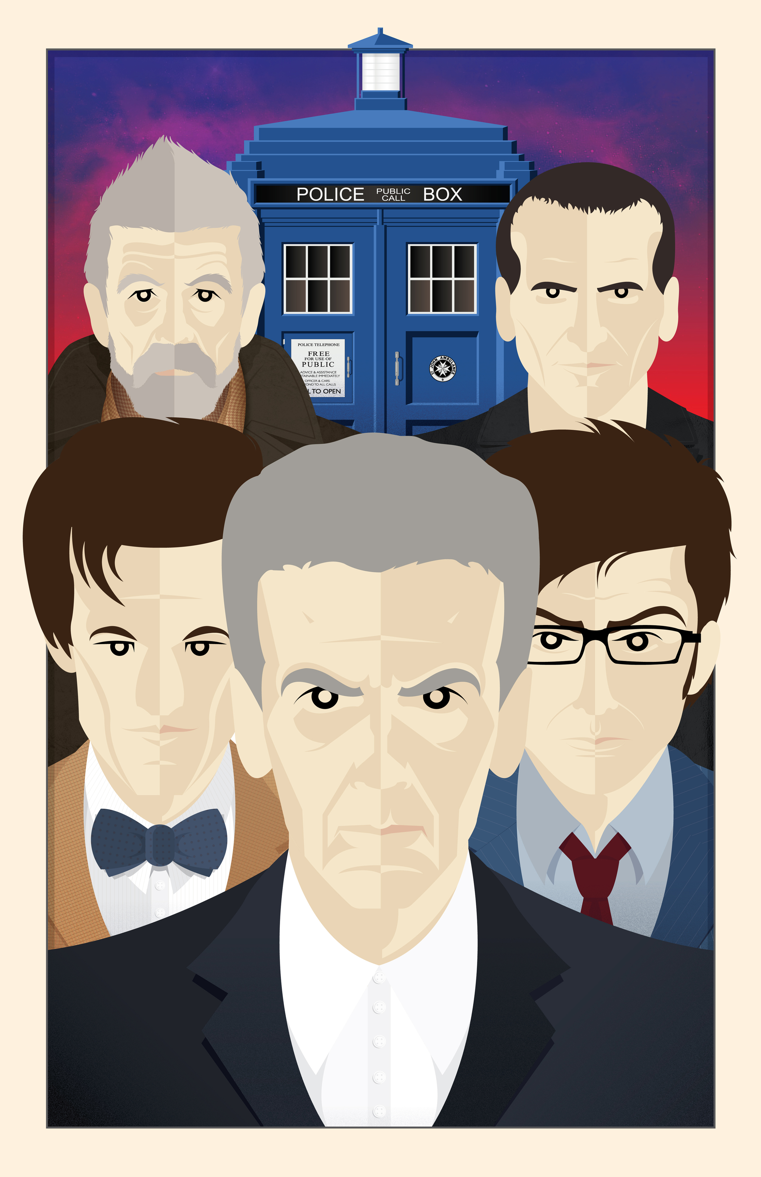 THE NEW WHO (11x17)