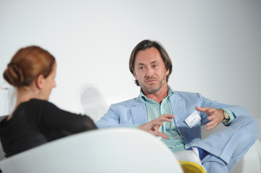 Marc Newson and Vanessa Friedman © Financial Times/Flickr