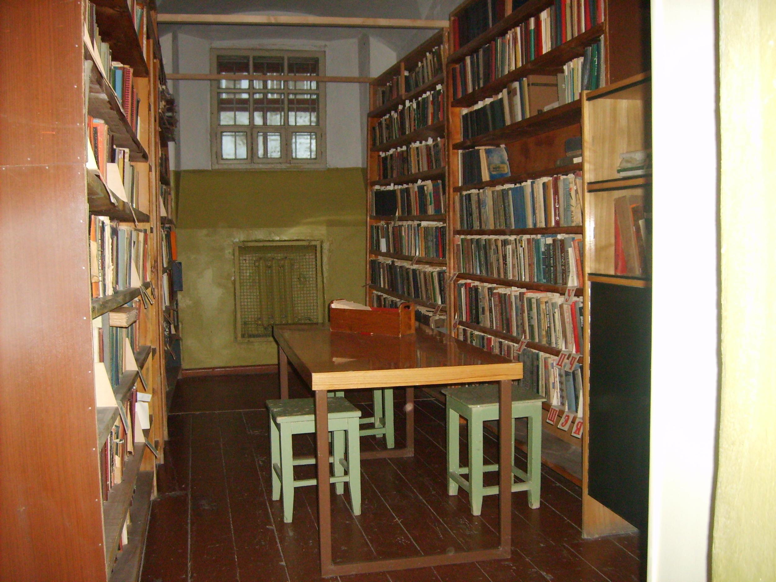 Prison Library ©Gavin Harper/Flickr