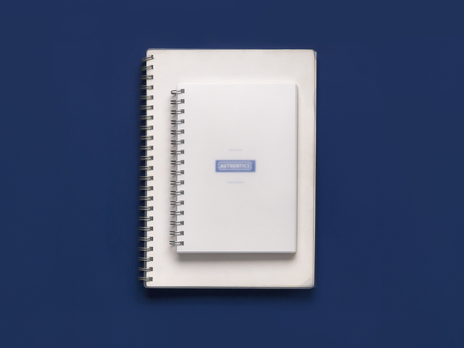 Simple Notepads. Spiral bound notepads. Designed for Authentics