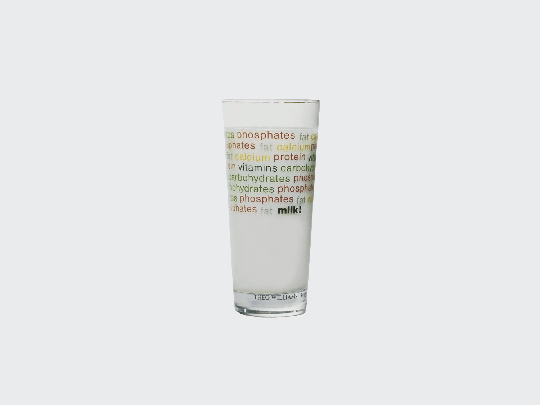 Milk Glass. Designed for Ritzenhoff Germany. 1992 with Marco Zanuso Jr.
