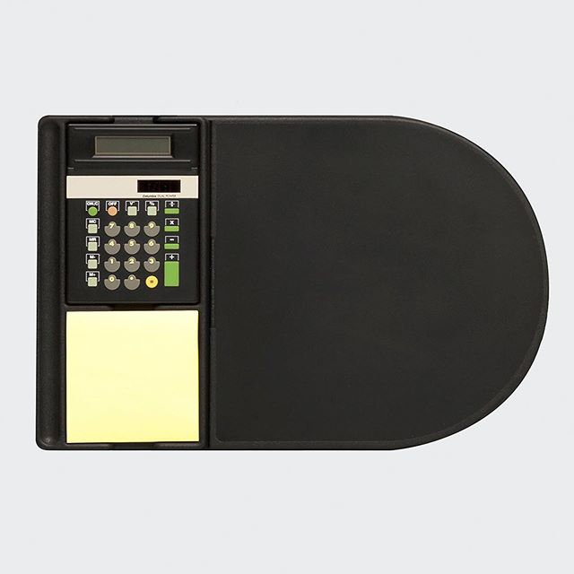 "NAVA Design. Milano 1994. Mouse Pad⁠⠀ We asked Ettore Sottsass if he would design the calculator for the pad, he did.⁠⠀ Awarded the Premio Smau⁠⠀ Design Plus 1995⁠⠀ ⁠⠀ ⁠⠀ Design Director 1992-1998⁠⠀ ""Theo was the first designer who I met when he was the design director for Nava. He taught me the approach of the project, and I can say that after 20 years all Nava production is still influenced from his job"" - Luca Penati CEO⁠⠀ ⁠⠀ #navadesign #theowilliams #design #simple @navadesign @theo_williams_"
