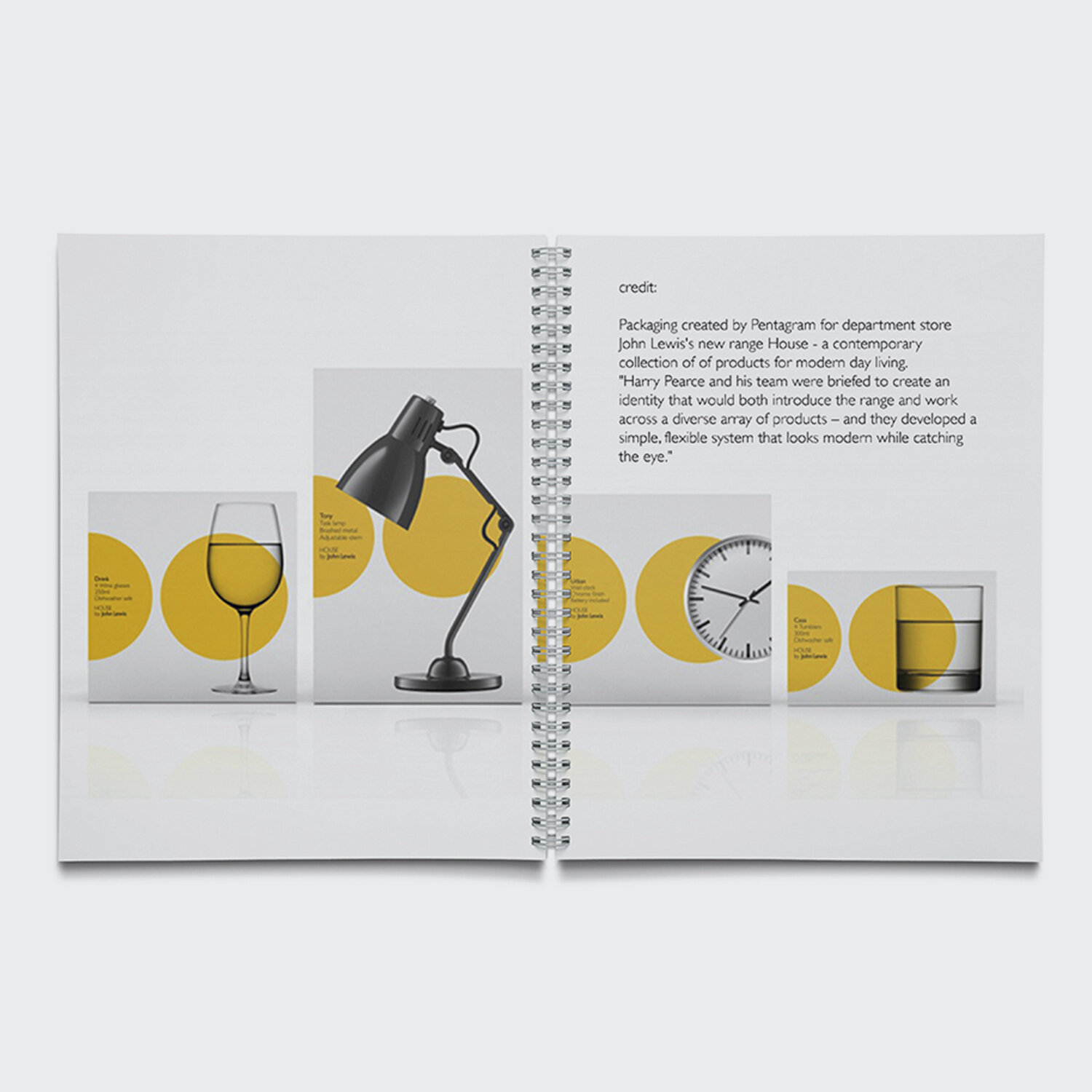"""HOUSE by John Lewis. Created for John Lewis as Head of Design. """" Theo's work on the 'HOUSE' range in particular has created an important legacy for our home product assortment."""" 2011-2016."""