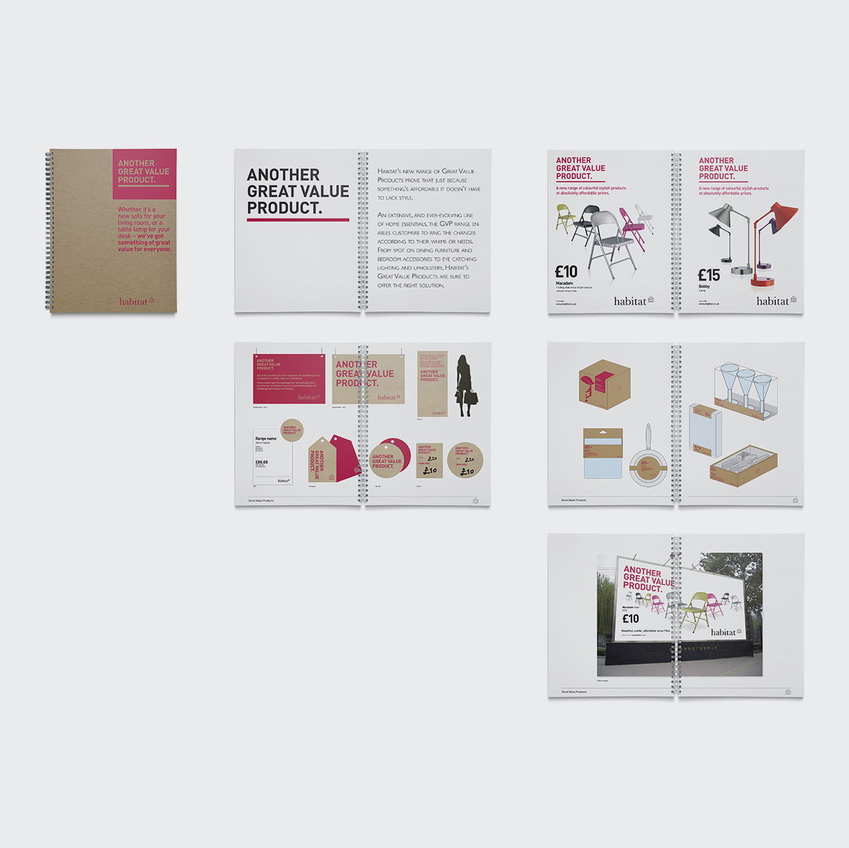 Another Great Value Product. Another Great Value Product. Brand design, created for Habitat as Creative Director for 5 years.