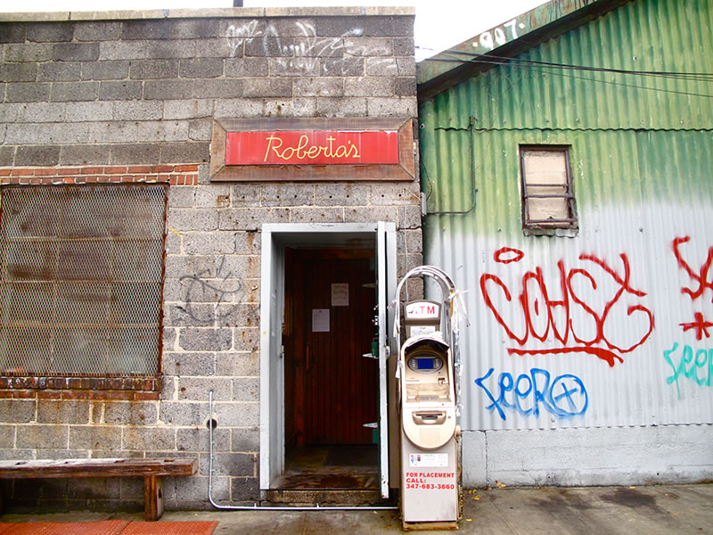Roberta's, 261 Moore St, Brooklyn , www.robertaspizza.com