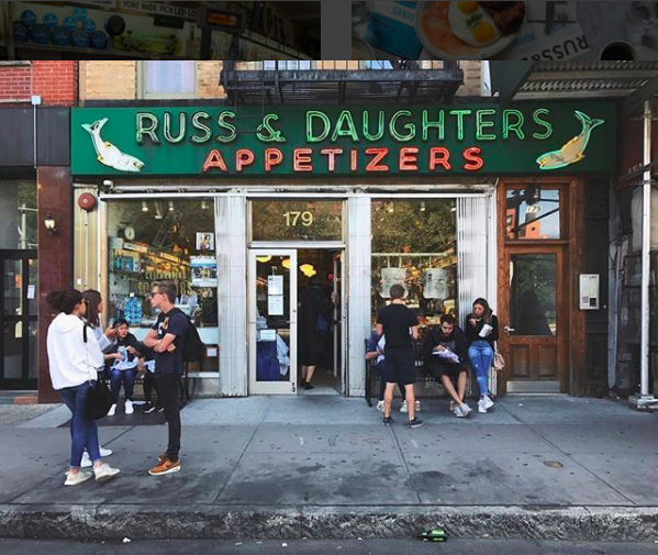 Russ & Daughters, 179 E Houston St , http://shop.russanddaughters.com/