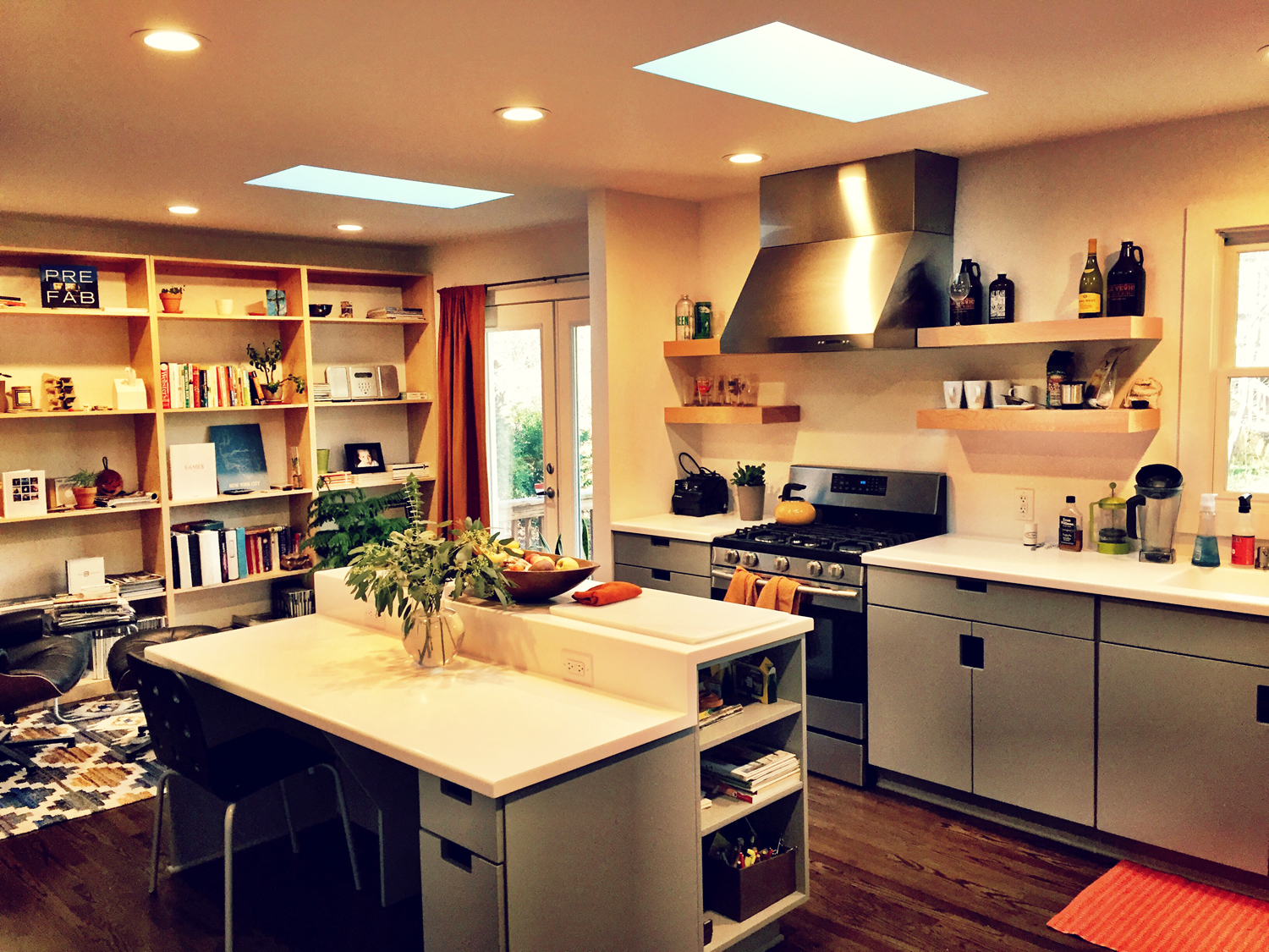 The Kitchen and Library