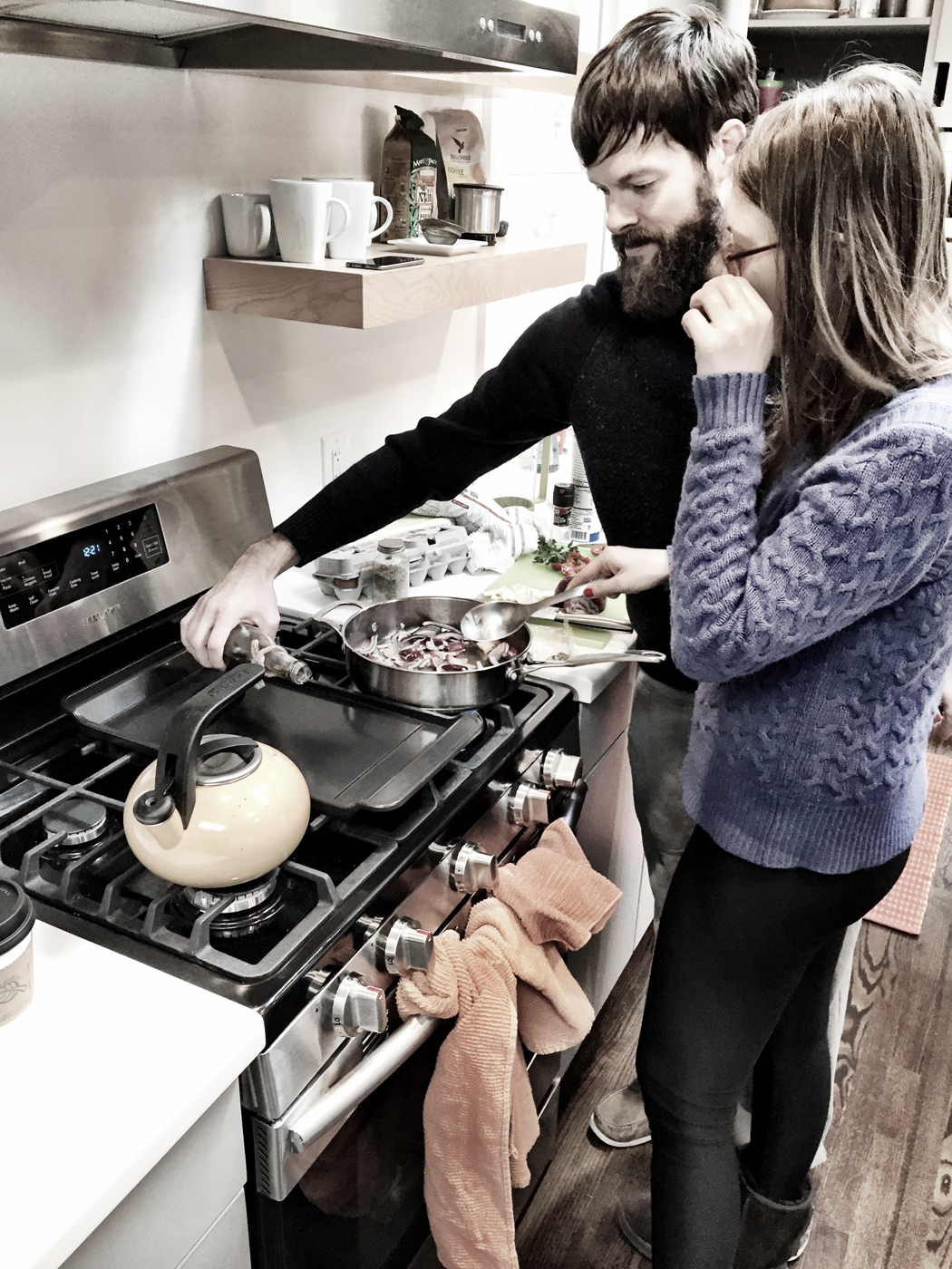 Do people usually photograph you when you're cooking?