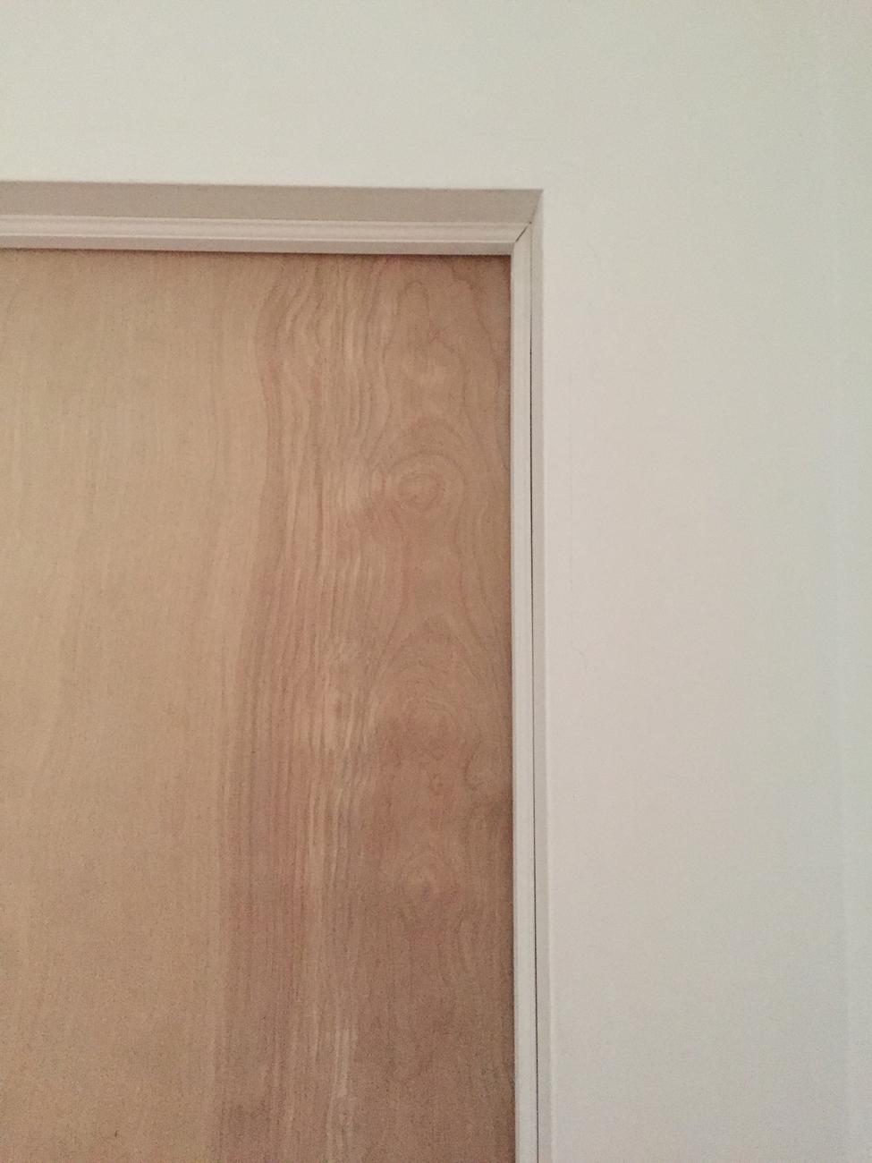Door corner.