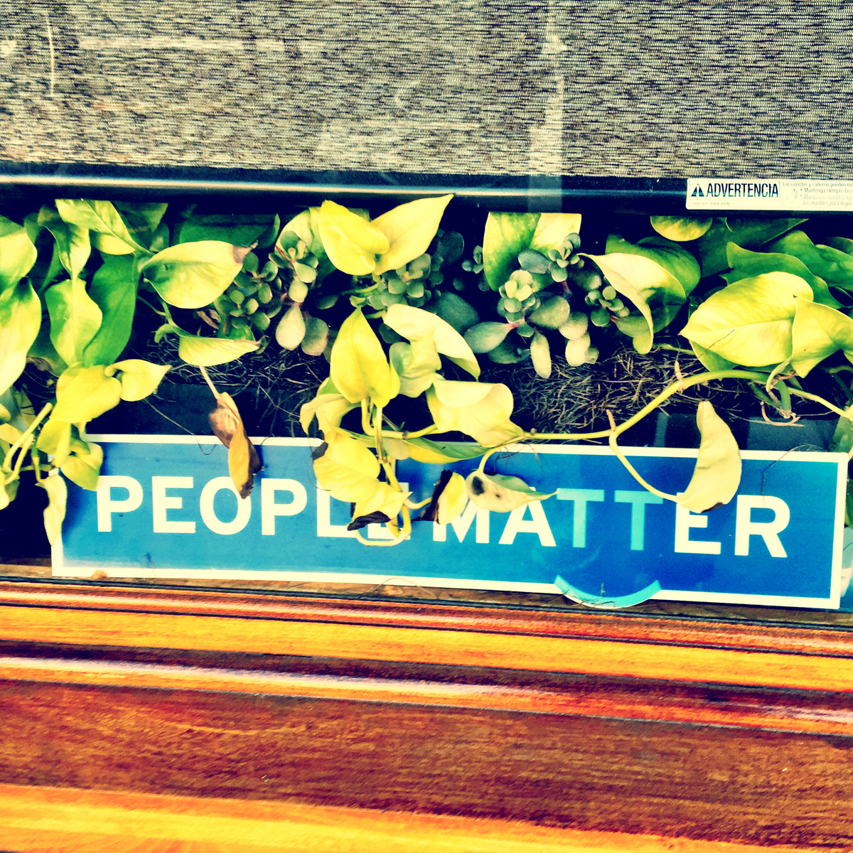 People Matter is one of the new tech companies in town.  They have become known for their swanky office space that includes every version of Mario Kart and a roof-top bar stocked with beer on tap.  I guess they practice what they preach...people matter.