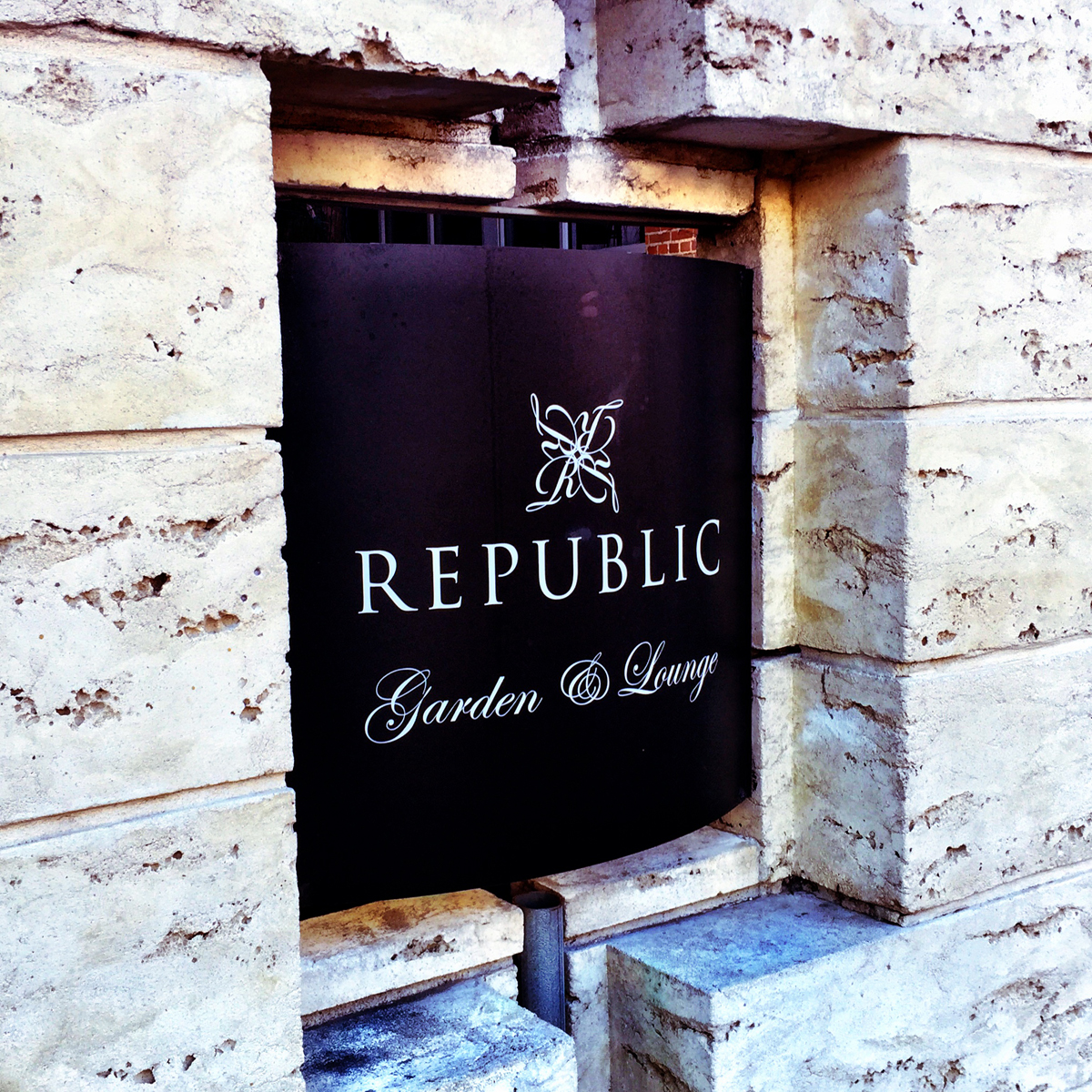 Republic is where you go when you want to get your dance on.  Cool sign.