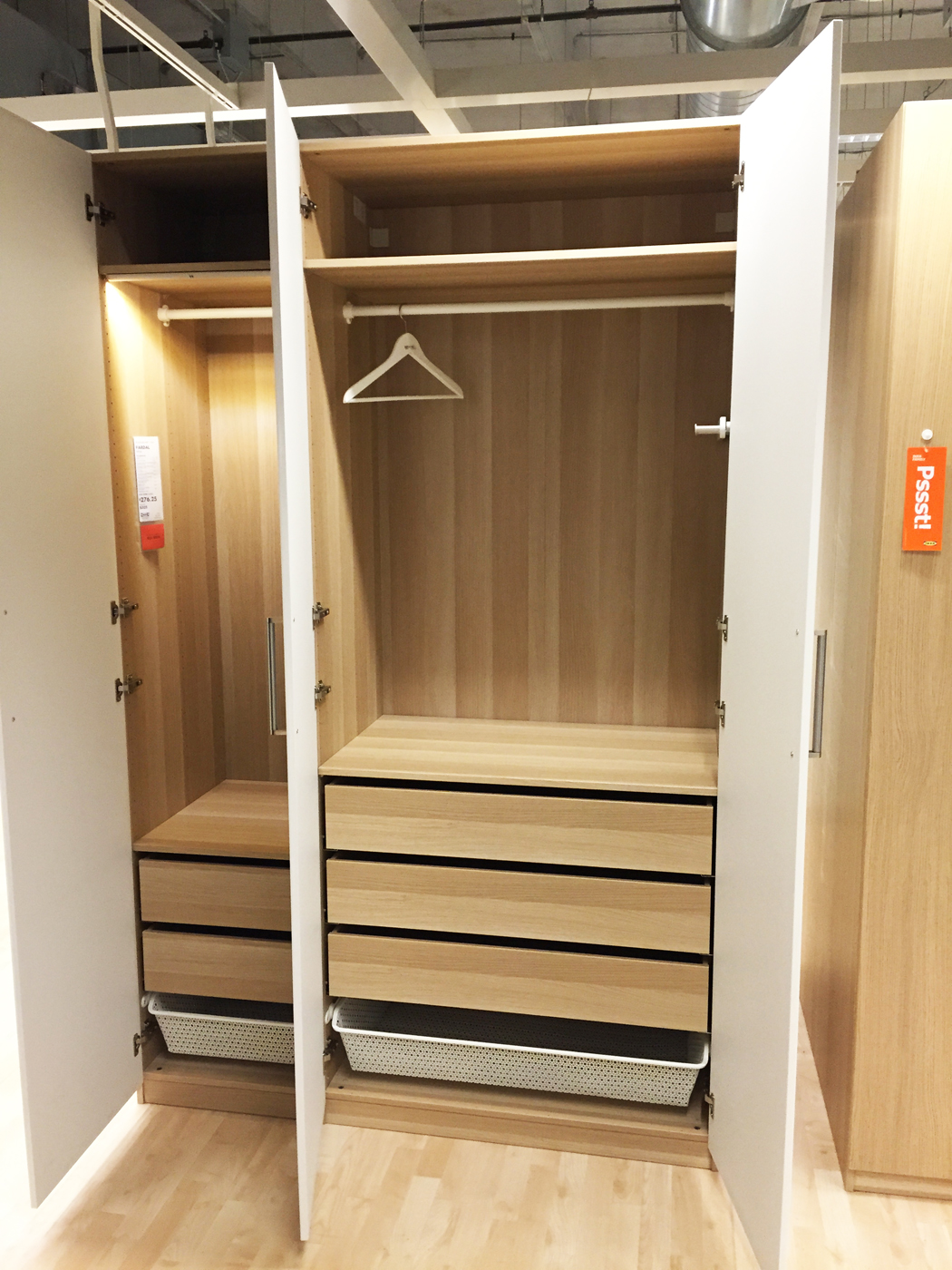 Ikea Wardrobe 2