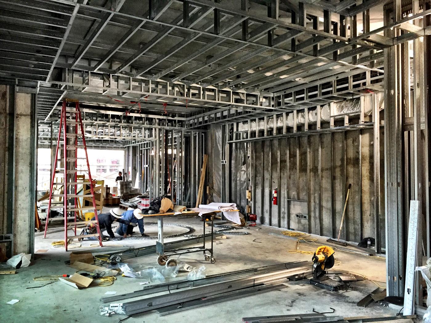 Lobby Construction Photo 3.