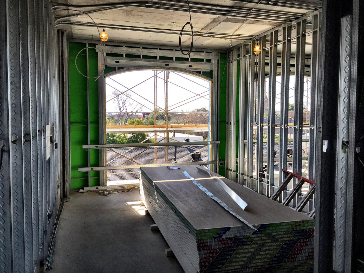 Hotel Room Construction Photo 1.