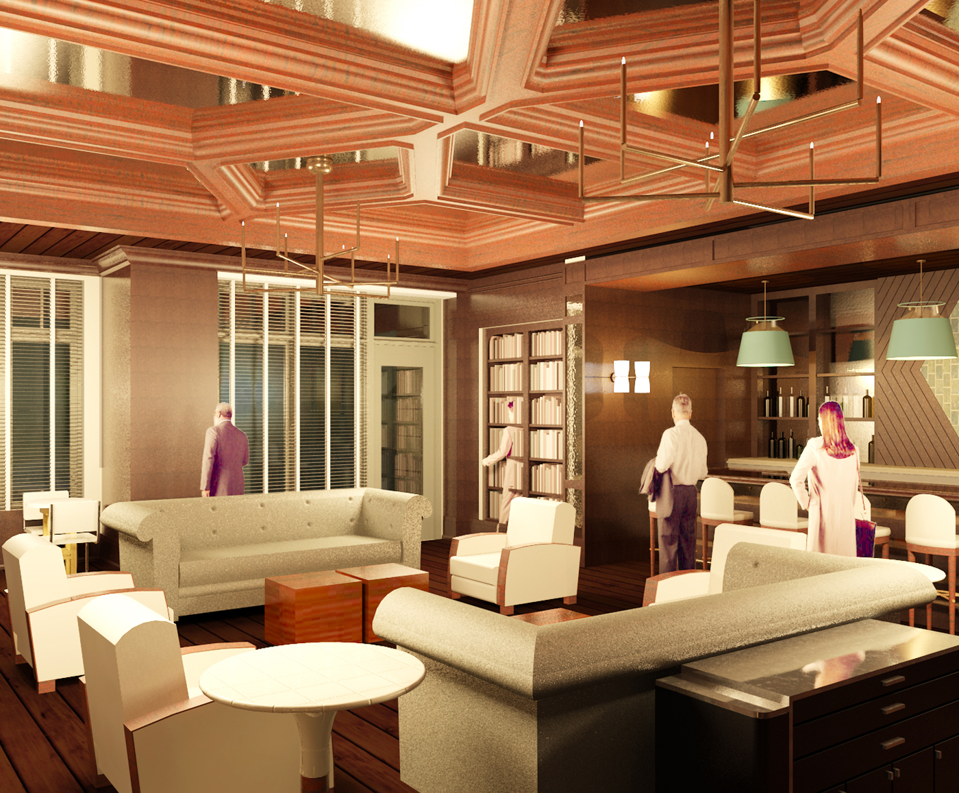 Lounge Rendering 2.