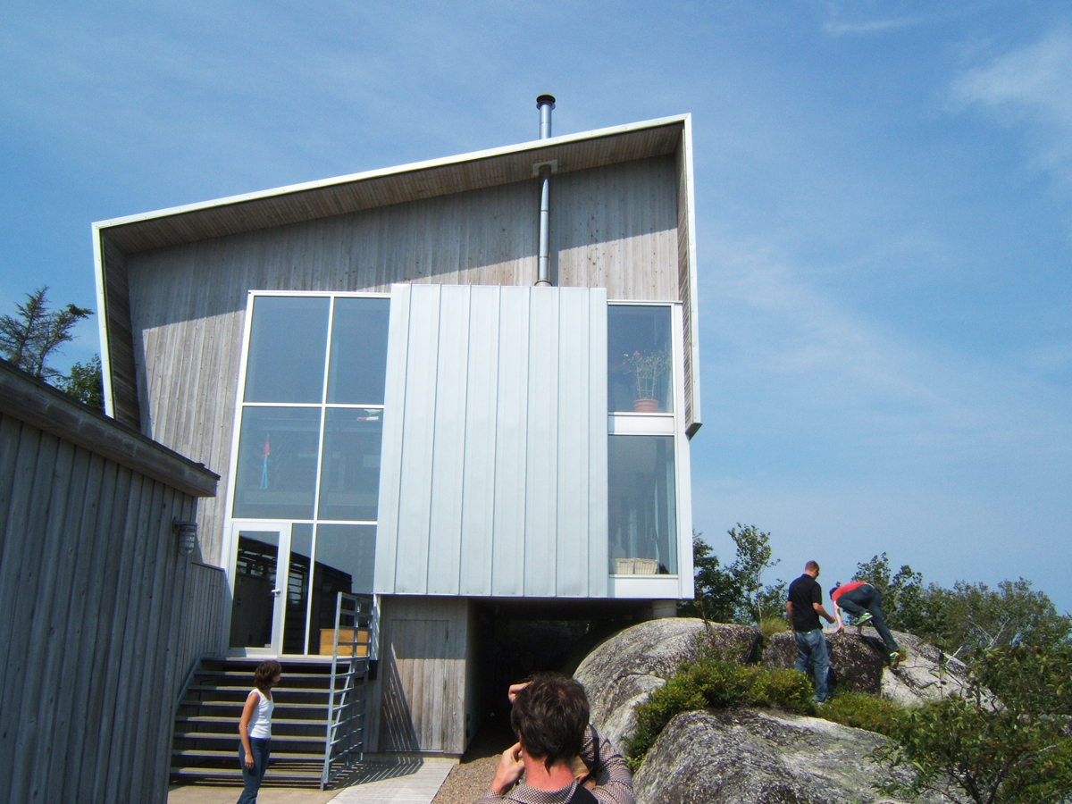 The Kutcher House, Nova Scotia. Exterior