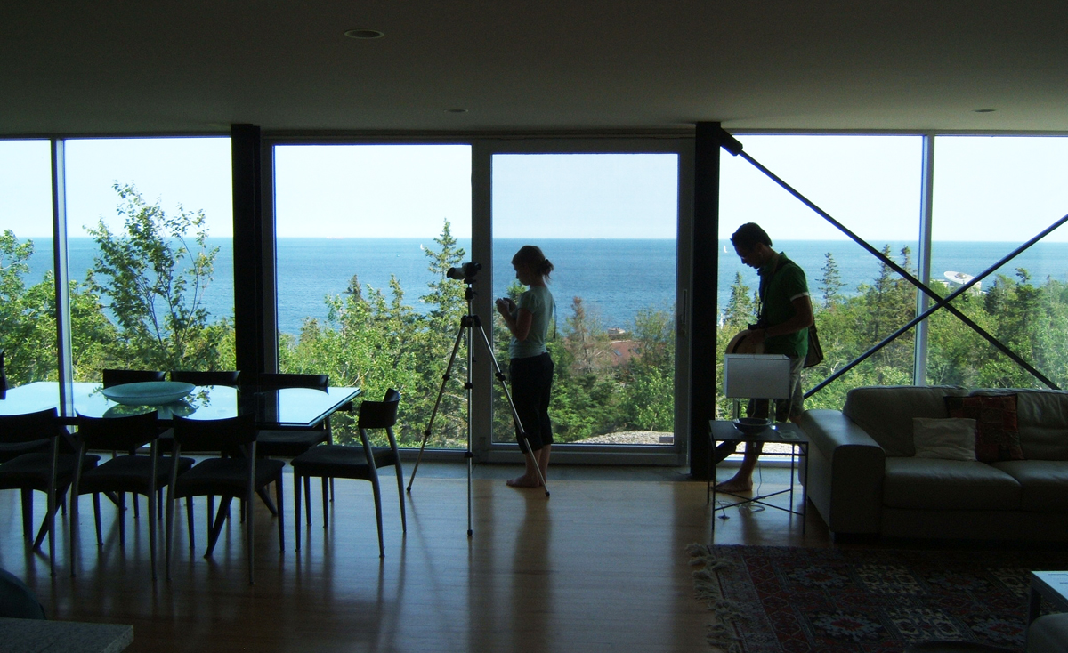 The Kutcher House, Nova Scotia. Interior