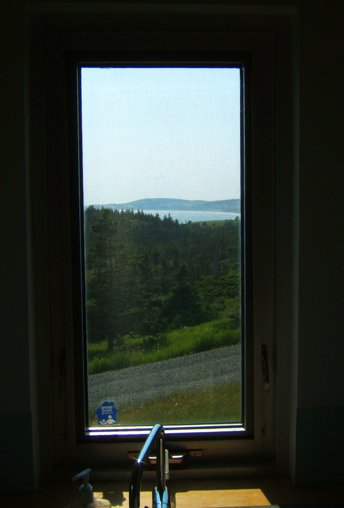 "Hill House, Nova Scotia.  ""Landscape viewing device"""