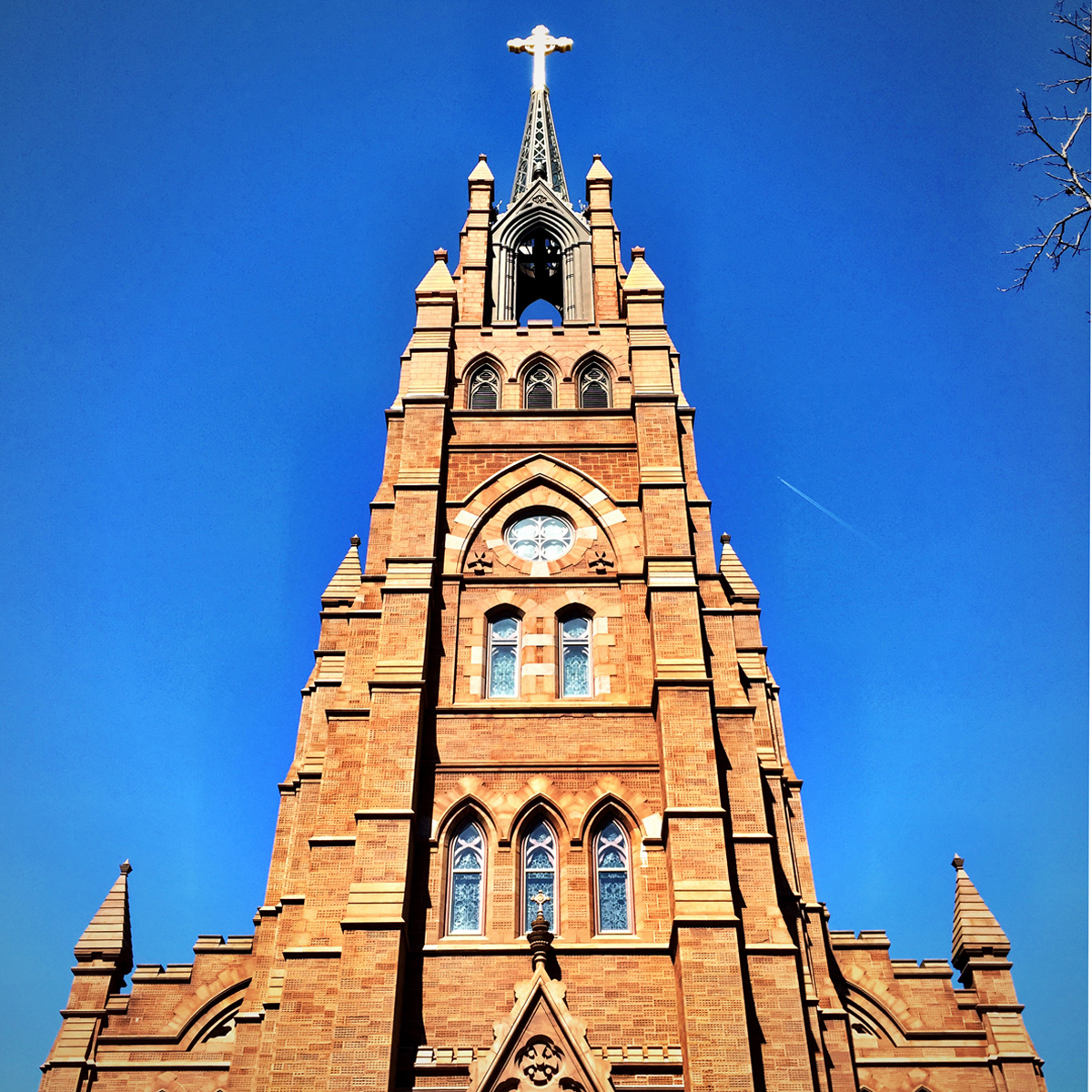 Cathedral of Saint John the Baptist. 120 Broad Street. Architect Patrick Keely
