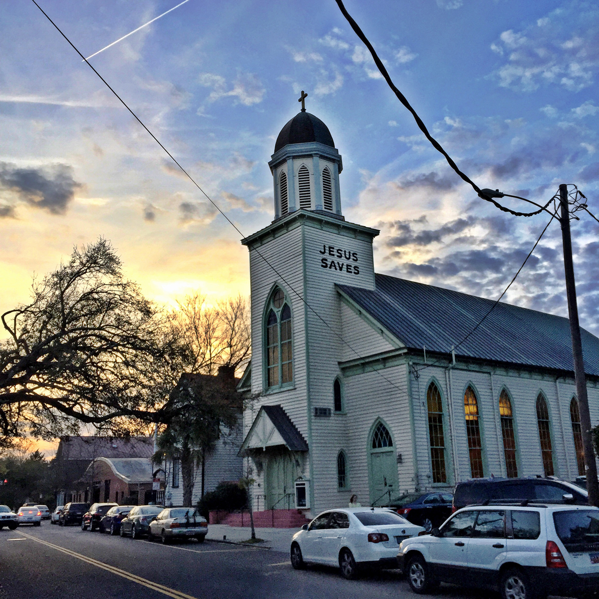 Central Baptist Church. 26 Radcliffe Street.