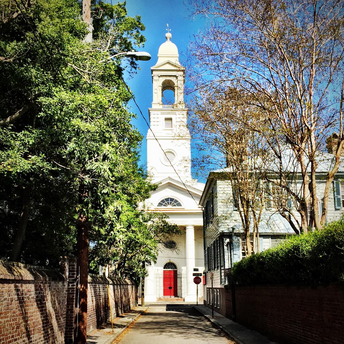 St. John's Lutheran Church. 5 Clifford Street.