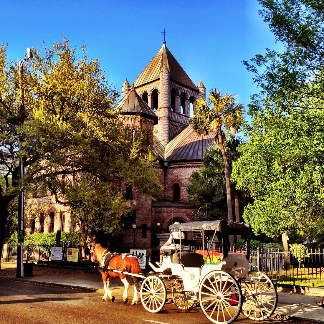 The Circular Congregational Church. 150 Meeting Street.