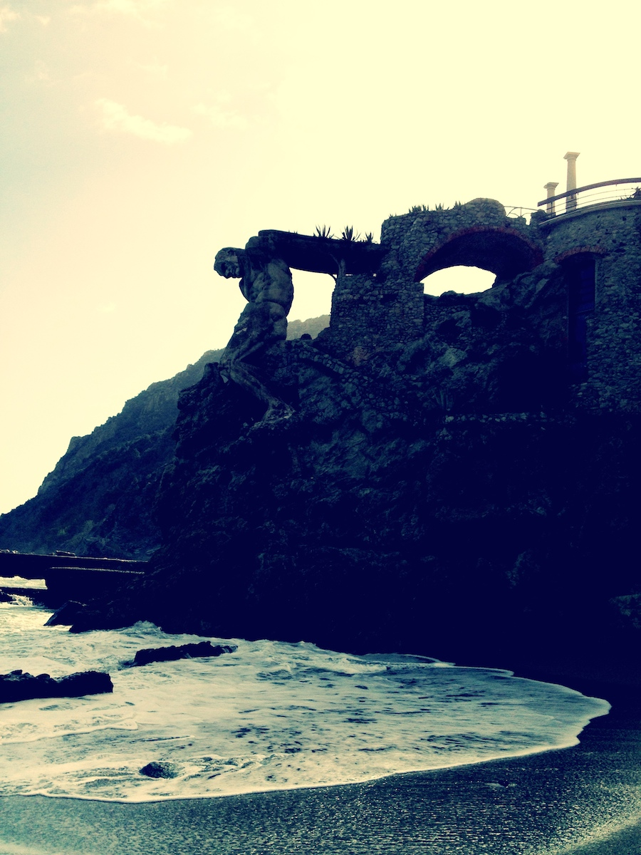 Neptune statue in Monterosso Al Mare.