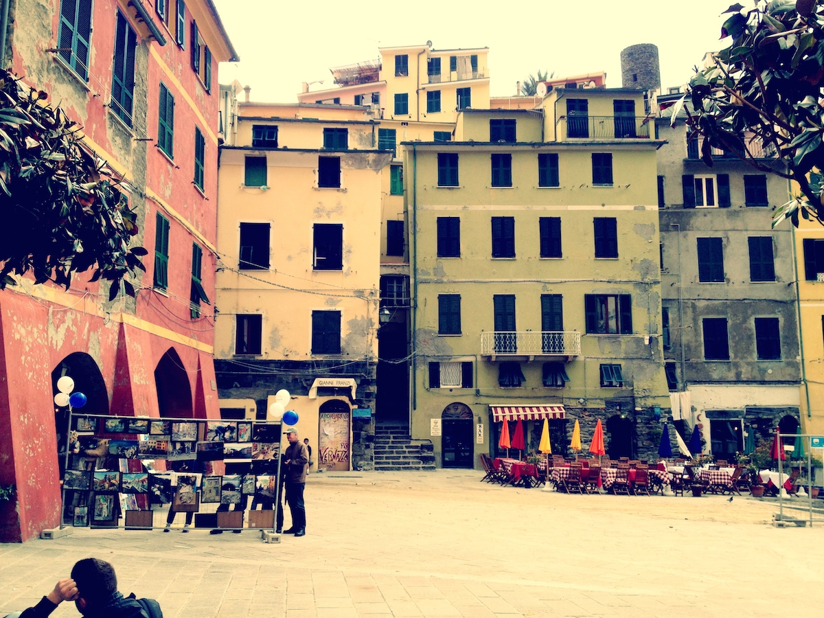 Vernazza Town Square