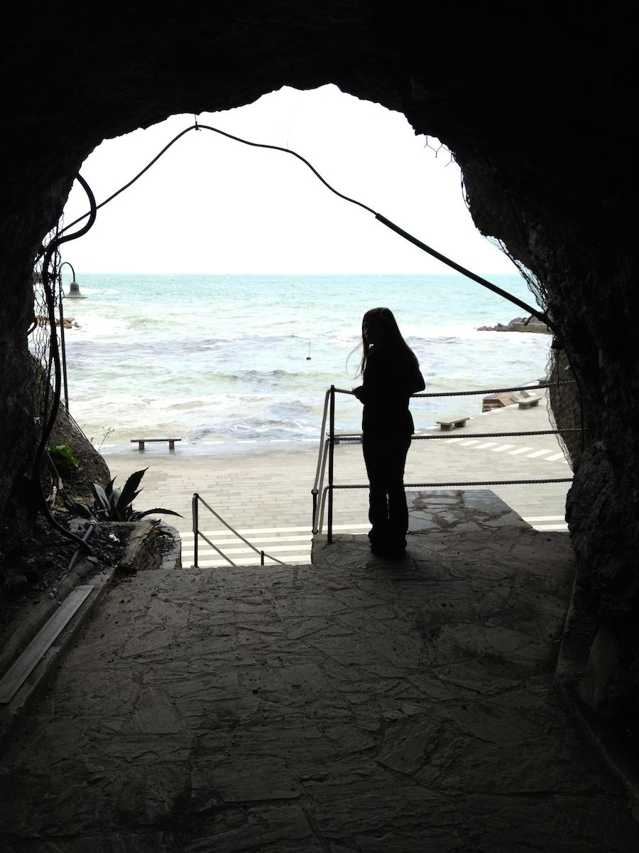 A portal at Monorosso al Mare.