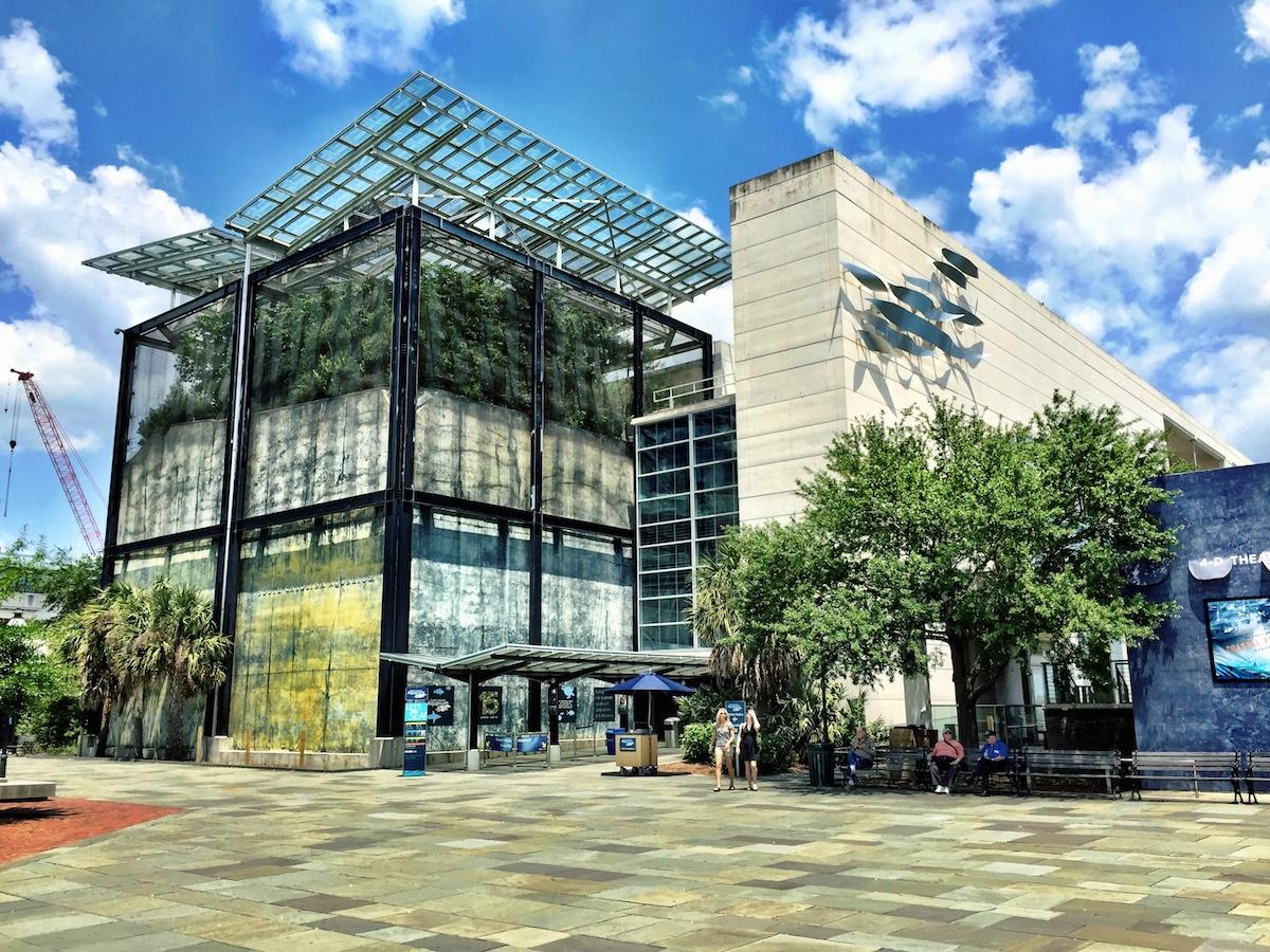 The South Carolina Aquarium. Architects: Clark and Menefee Architects; Eskew + Architects