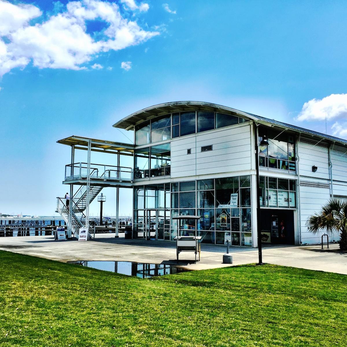 Charleston Maritime Center. Architects: Sasaki Associates