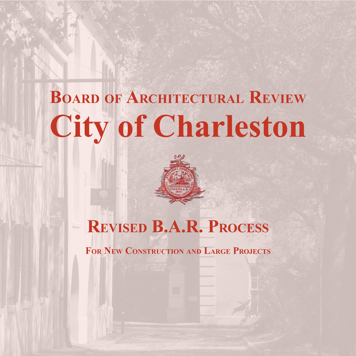 Cover Image: Revised B.A.R. Process For New Construction and Large Projects
