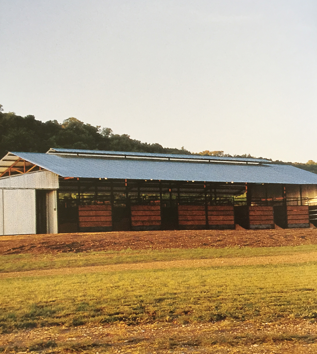 Lake Flato Architects.  Air Barns, San Saba, TX, 1999