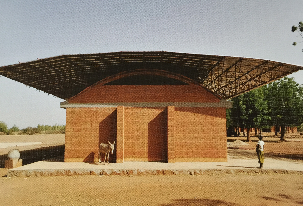 Kere Architecture.  Secondary School and Library, Gando, 2007