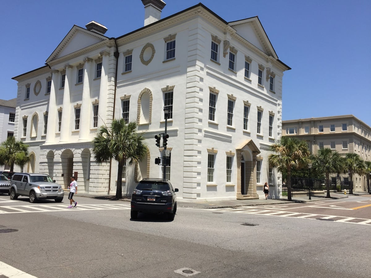 Charleston's Old Courthouse Building