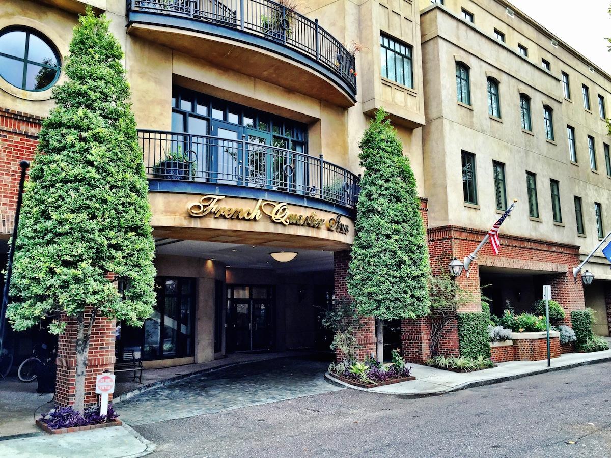 The French Quarter Inn on Linguard Street