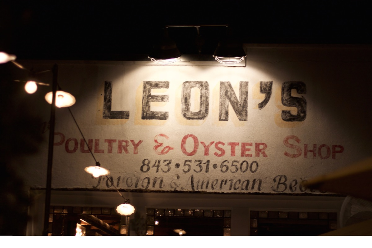 Leon's Poultry & Oyster Shop.  Photo Credit: Miguel Buencamino
