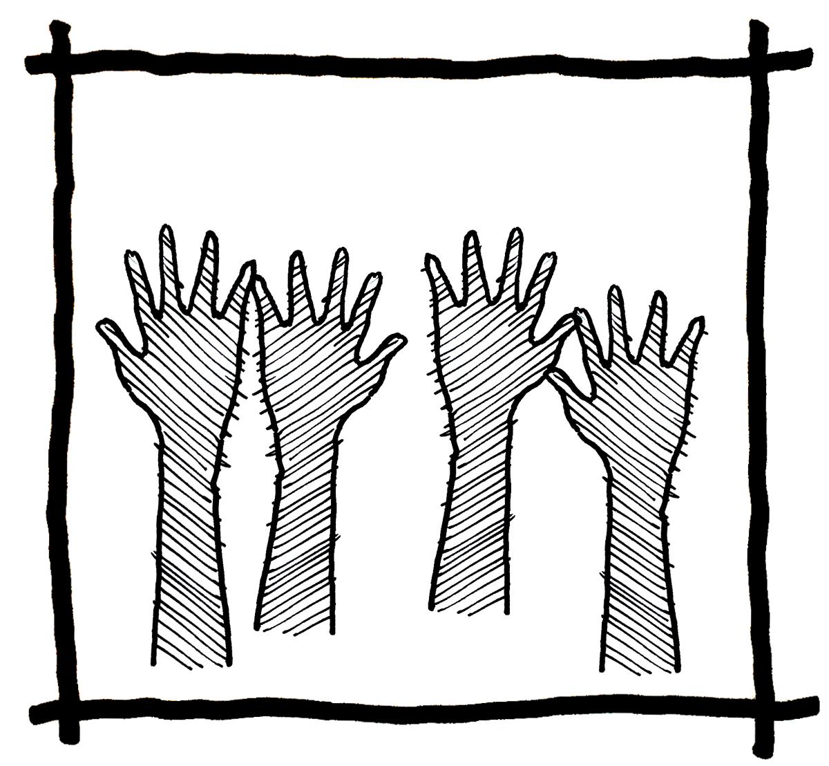Hand Sketch - Steve Ramos