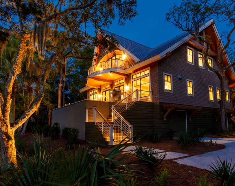 The Palmetto at Indigo Park, Kiawah Island, SC by Cumulus Architecture + Design LLC