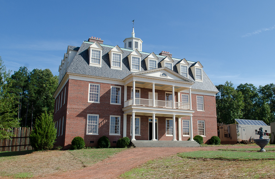 The Barrington House of the Hilltop Community from The Walking Dead. Photo credit: The Walking Dead Wiki
