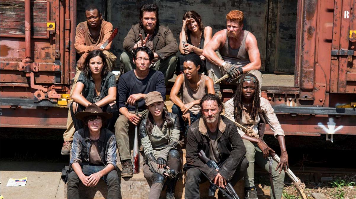 Cast of The Walking Dead. Photo Credit: AMC.com