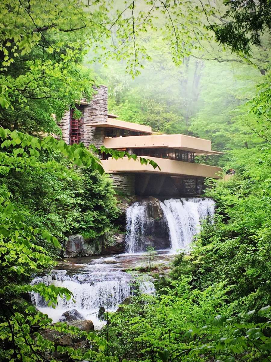 Fallingwater Residence by Frank Lloyd Wright.  Photo Credit:  Steve Ramos