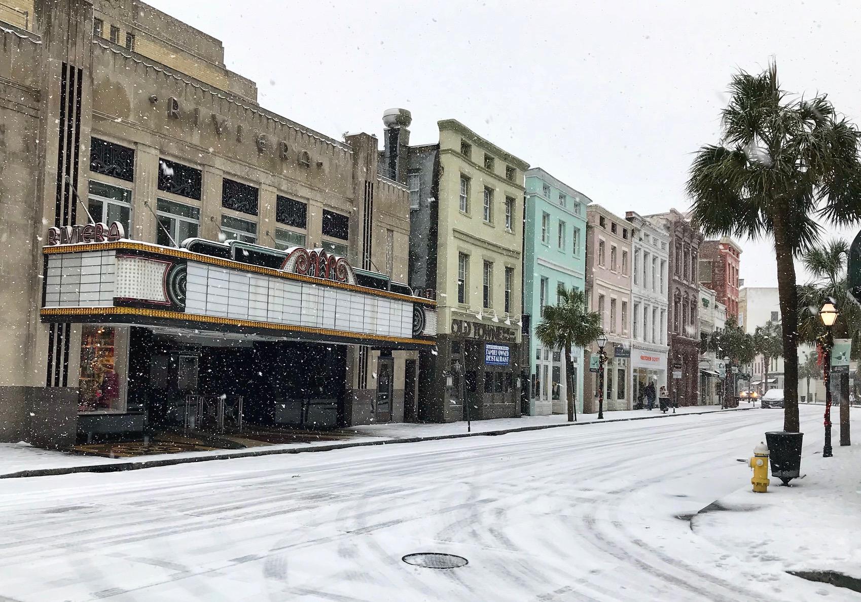 The Snowy Riviera  by Steve Ramos