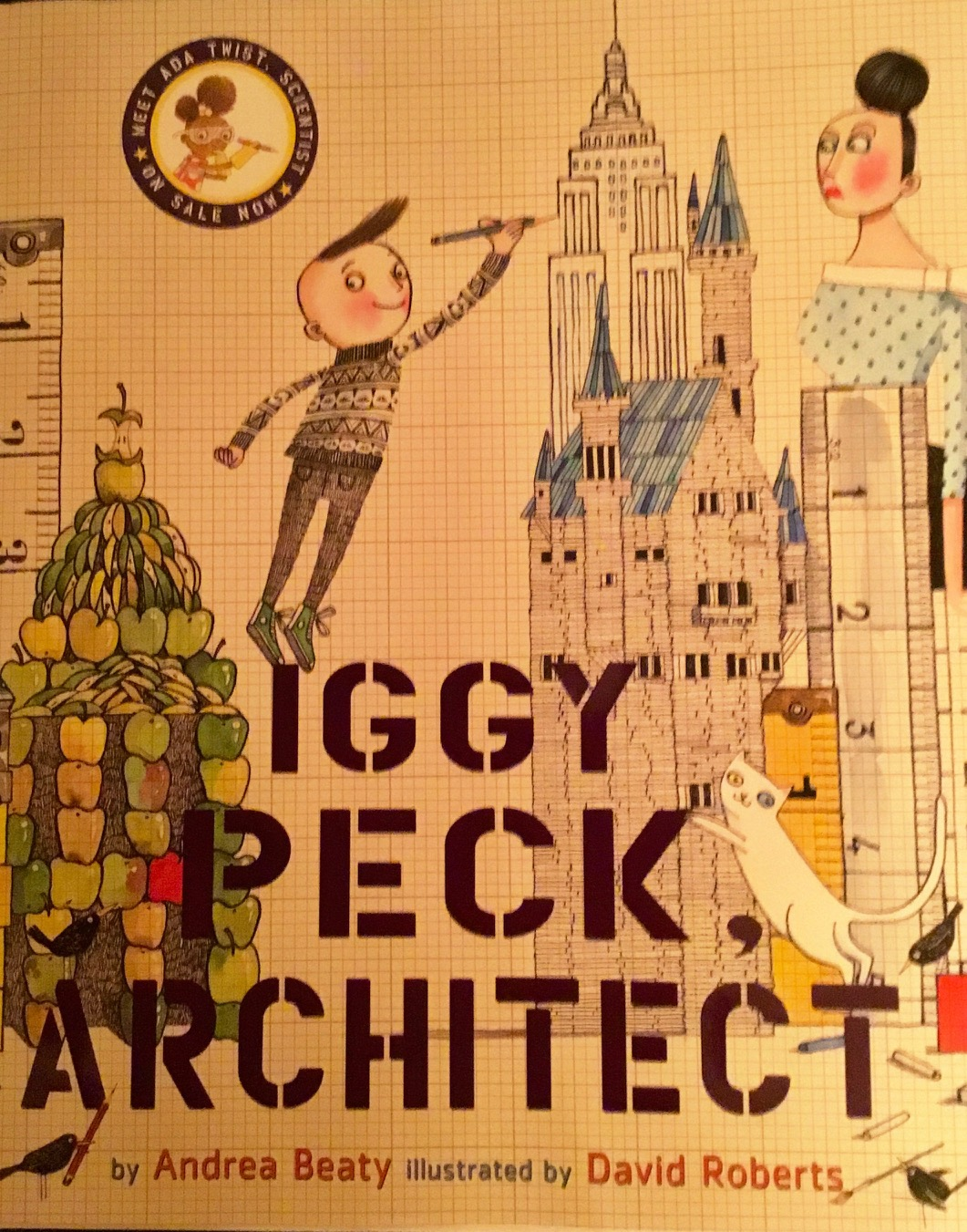 Iggy Peck Architect by Andrea Beaty is a gift Danielle and I recently received at our baby shower.